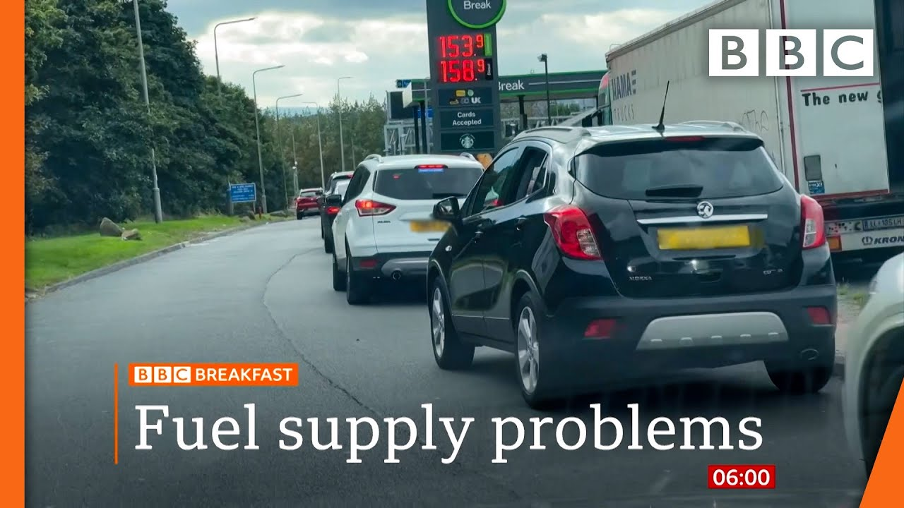 Download Fuel supply: UK suspends competition law to get petrol to forecourts @BBC News live 🔴 BBC