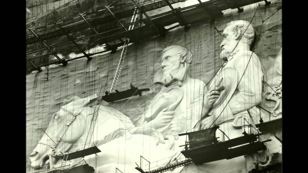 Stone mountain park confederate memorial carving youtube