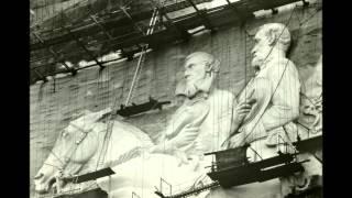 Stone Mountain Park Confederate Memorial Carving