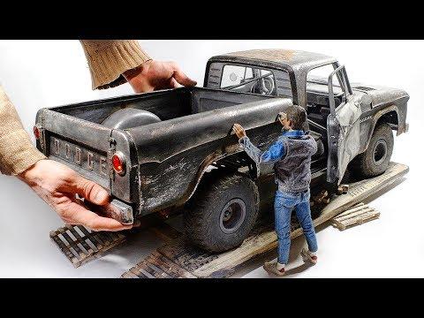 1961 Dodge D100 / 3D print / Wood / Foil / Styrene / Full build 1/6