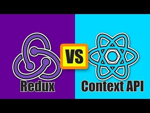 Redux Vs Context API (React Tutorial) thumbnail