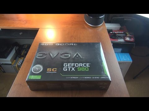 Evga Geforce Gtx 980 Graphics Card Unboxing Install And Bootup