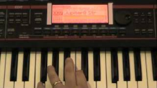 Roland Juno-G - Performances 1-16