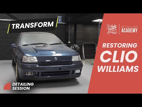 Clio Williams gets resurrected by Auto Finesse