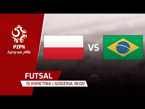 Futsal: Polska - Brazylia
