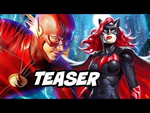The Flash Season 5 Arrow Batwoman Teaser Explained