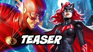 The Flash Season 5 Arrow Batwoman Teaser Explained