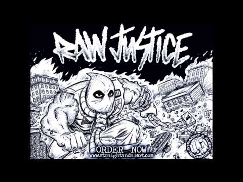 RAW JUSTICE  ARTIFICIAL PEACE 7'' FULL EP