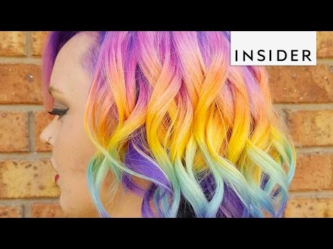 Rainbow Hair Salon