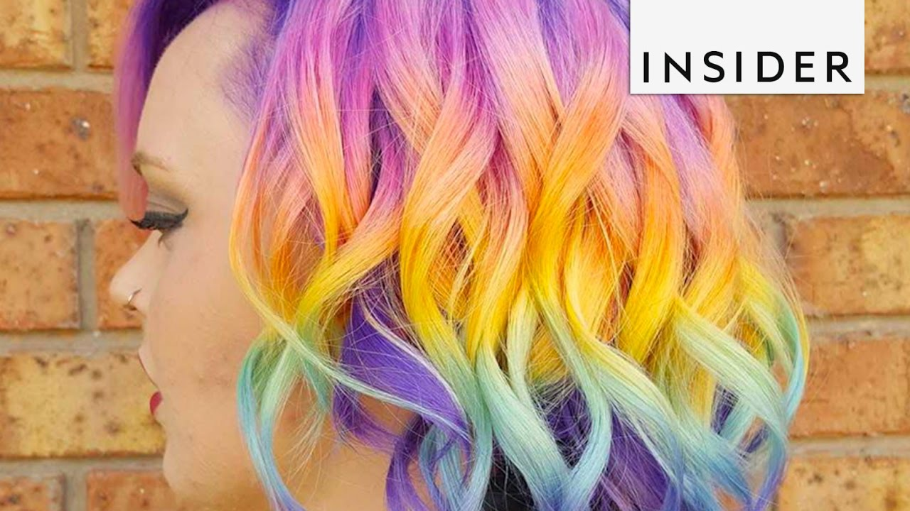 Rainbow Hair Salon - YouTube