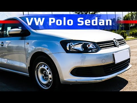 VW Polo Sedan /// обзор автомобиля 2012 года