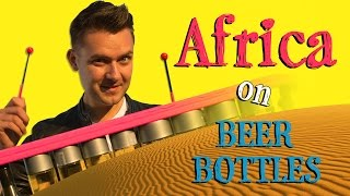 Africa on Beer Bottles