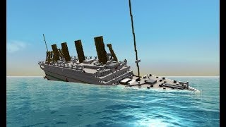 Sinking of the HMHS Britannic!