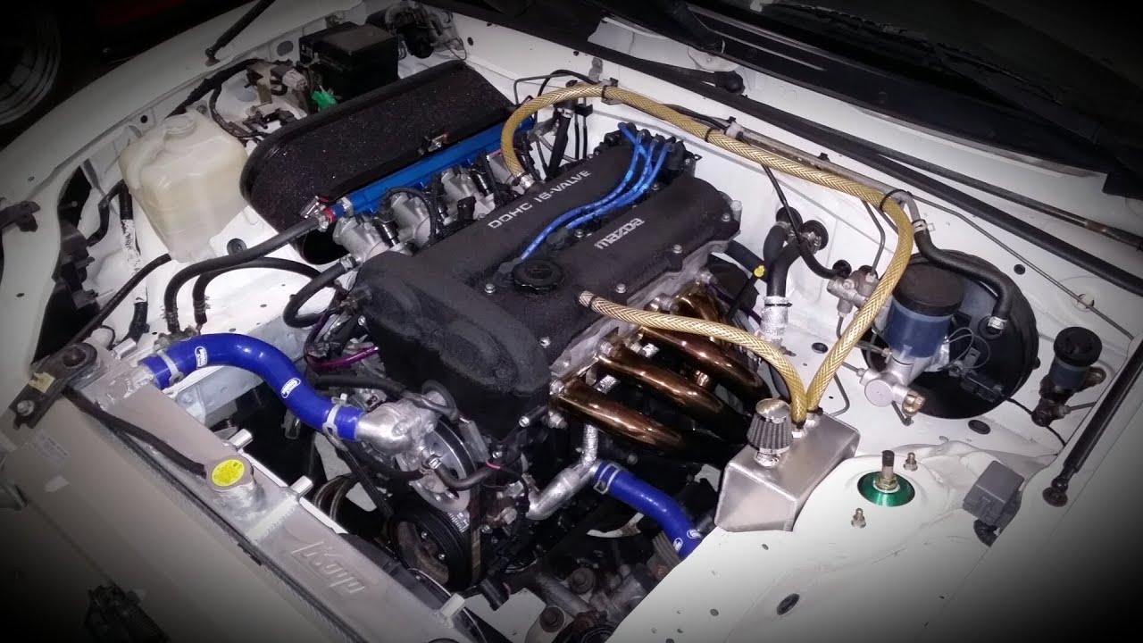 All Motor Miata Tuning And My 1999 Itb Miata Engine Gqm Garage Youtube