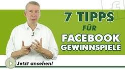 7 TIPPS FÜR FACEBOOK GEWINNSPIELE - Was ist eigentlich.?