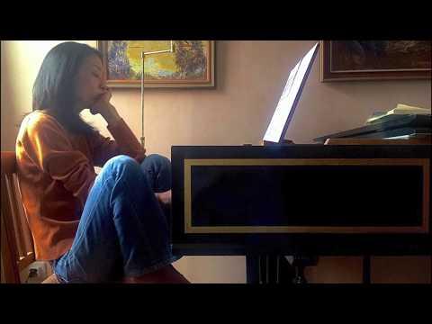 Yuko Inoue plays J.S.Bach : Konzert und Fuge c-Moll BWV909
