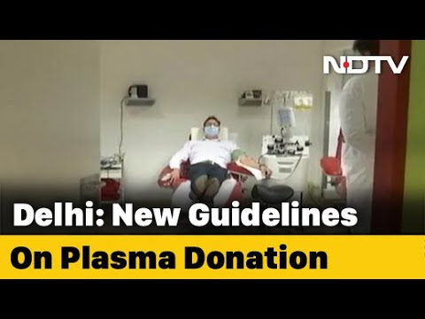 Delhi's New Plasma Policy Amid Worry Over Donor Shortage