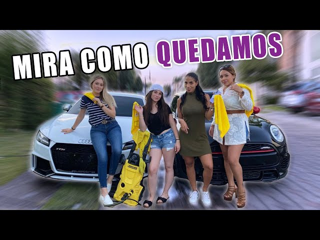LAVE CON MIS AMIGAS MIS AUTOS AUDI TTRS Y MINI COOPER JCW || ANDREA NAVARRO