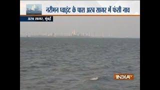 Passenger boat capsizes near Shivaji Smarak, rescue operation underway