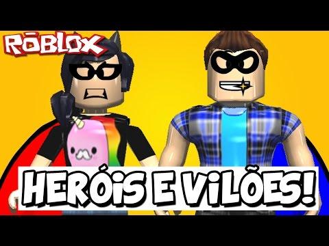 SUPER HERÓIS E SUPER VILÕES! – Roblox (Super Hero Life)