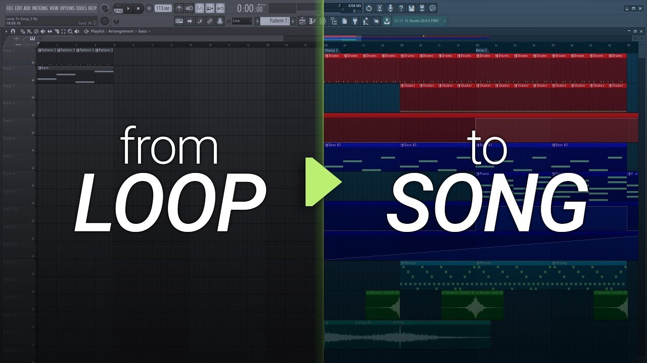 How To Turn Your Loop Into A Song #2- Arrangement and Production