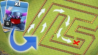 Money maze base!! | Clash of clans | Troll maze!!