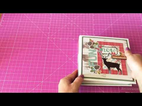 "Album collezione ""Winter ""simple stories"