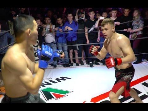 Борец против Боксера,  Крутой Бой !!!