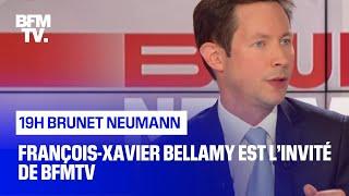 François-Xavier Bellamy est l'invité de BFMTV