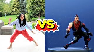 Temporada de Tiana Fortnite 4 Dance Challenge na vida real