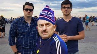 ЧЕРЧЕСОВ гений или физрук? Мнение РОССИЙСКИХ болельщиков о матче Россия - Уругвай!