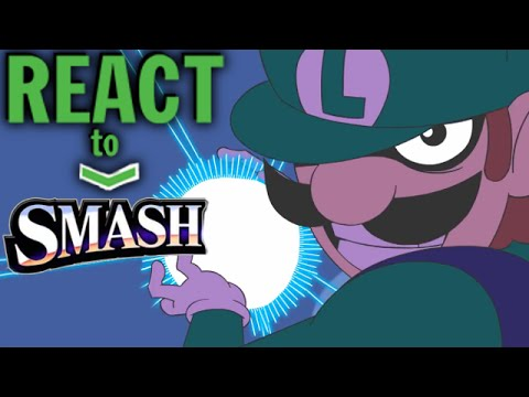LUIGIKID REACTS TO: SMASH! - Starbomb MUSIC VIDEO - LUIGI, NUMBER ONE!