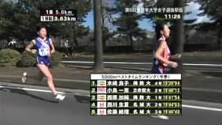 ロンドンオリンピックへの出場が決定した木崎良子(ダイハツ) 佛教大学4...