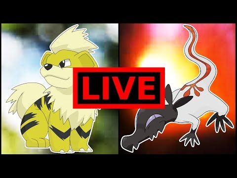 LIVE Shiny Race and GIVEAWAY with Mew2FanNate!!!!