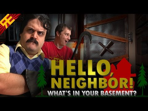Hello Neighbor: Whats In Your Basement  Action Musical