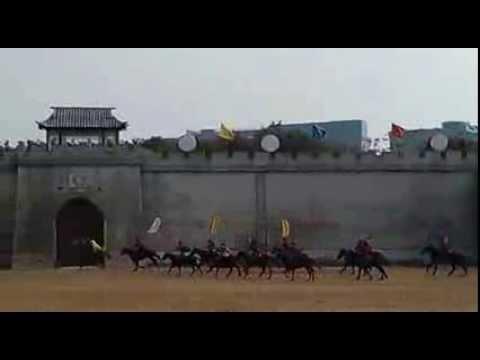 Horseback Battle Show, China Folk Culture Villages, Shenzhen