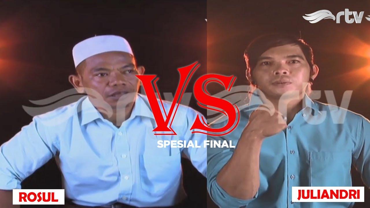 ROSUL, seorang Muadzin dan pedagang bertemu Juliandri di Final Adu Kuat! siapa juara nya?