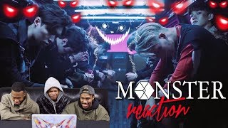 Video EXO 엑소 'Monster' REACTION (FIRST TIMERS) download MP3, 3GP, MP4, WEBM, AVI, FLV Agustus 2018
