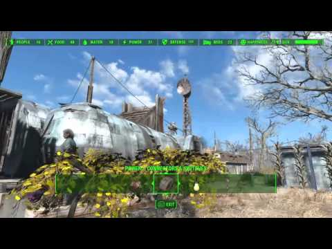 Fallout 4 - Settlement Tips - How To Assign Settlers To Roles