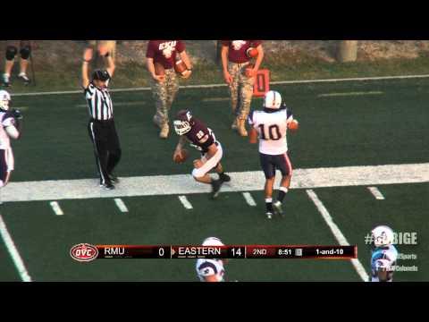 EKU Football Highlights vs. Robert Morris