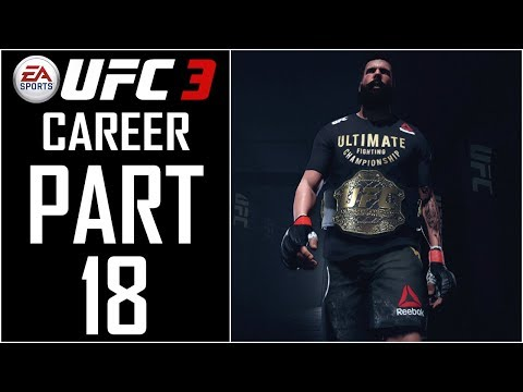 "EA Sports UFC 3 - Career - Let's Play - Part 18 - ""The G.O.A.T! 100 Overall (Career End)"""