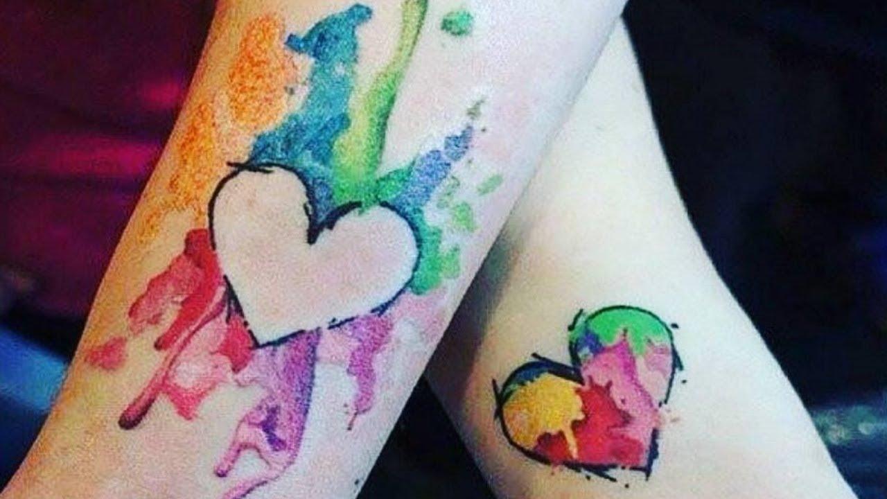 парные тату для влюбленных красиво и романтично Lucklady
