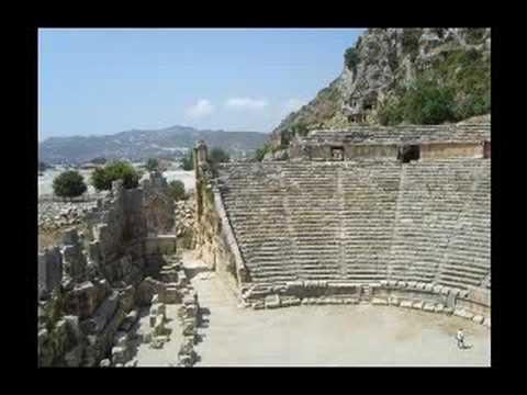 MYRA ( antik şehri.) Demre-Antalya-TÜRKİYE