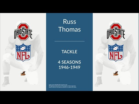 Russ Thomas: Football Tackle