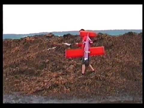 RC PLANE IN DUNG - Letadlo V Hnoji