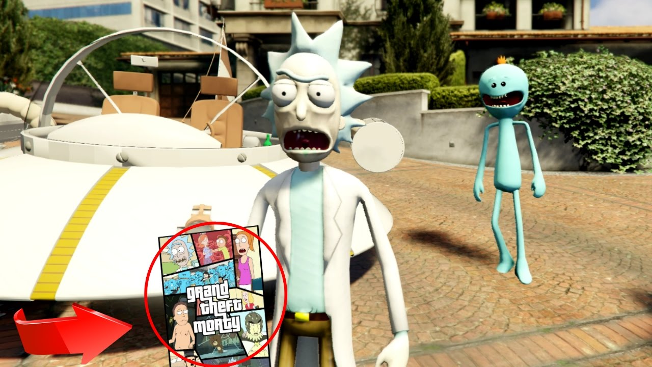 GTA 5 - SHOW ME WHAT YOU GOT! (Rick and Morty Mod) - YouTube