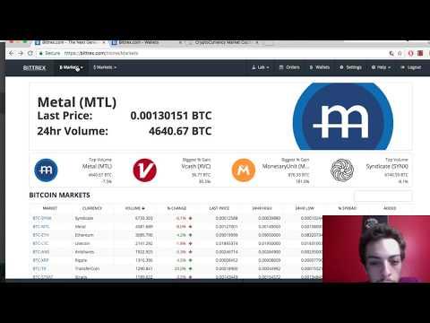 Syndicate Coin - Bittrex Fail