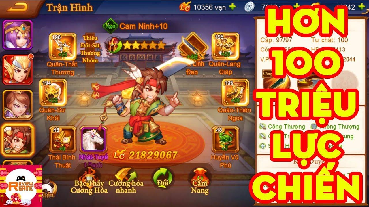 Danh Tướng 3Q – ACC Team Ngô Review Game Chạm Mốc Hơn 100 Triệu LC, Cách Tăng LC Quan Trọng