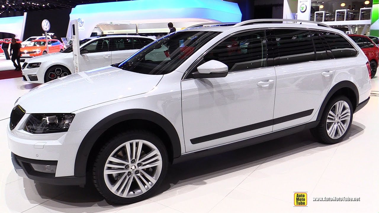 2015 skoda octavia scout diesel 4x4 exterior interior walkaround 2015 geneva motor show. Black Bedroom Furniture Sets. Home Design Ideas