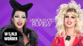 FASHION PHOTO RUVIEW: Sarah Paulson Red Carpet with Violet Chachki & Katya!